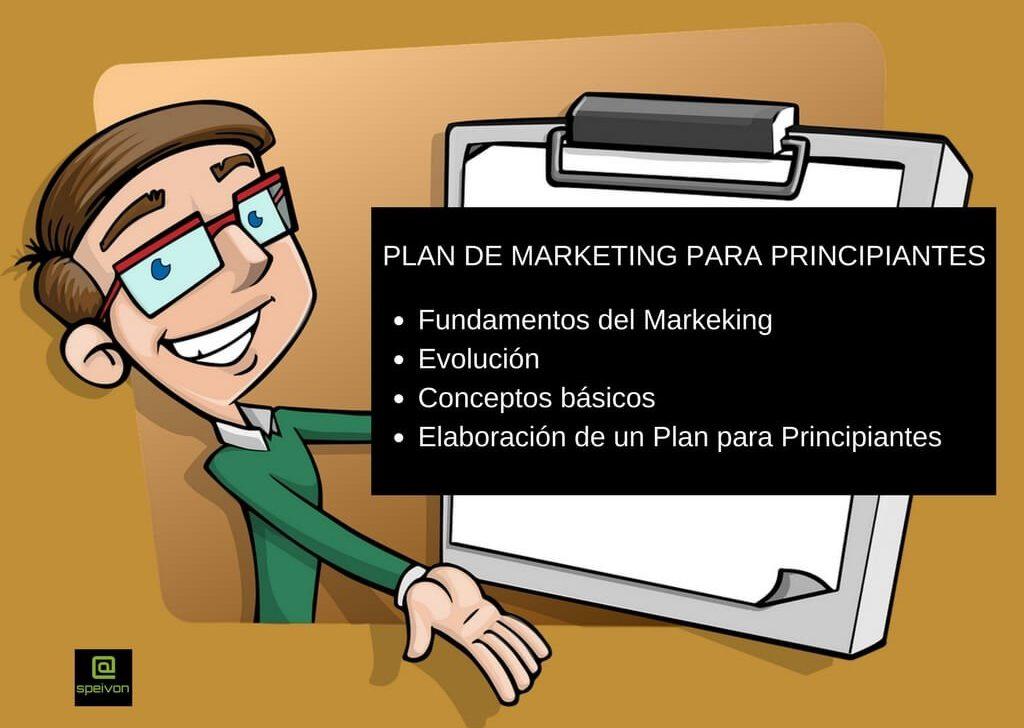Plan de Marketing  para Principiantes: Fundamentos y conceptos básicos