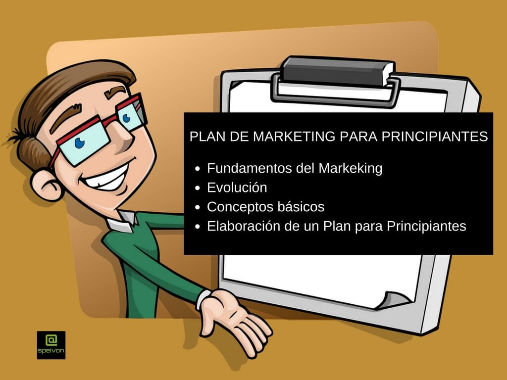 Plan de Marketing  para Principiantes: Fundamentos y conceptos básicos