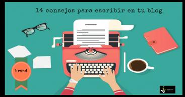 14 consejos para escribir en tu blog
