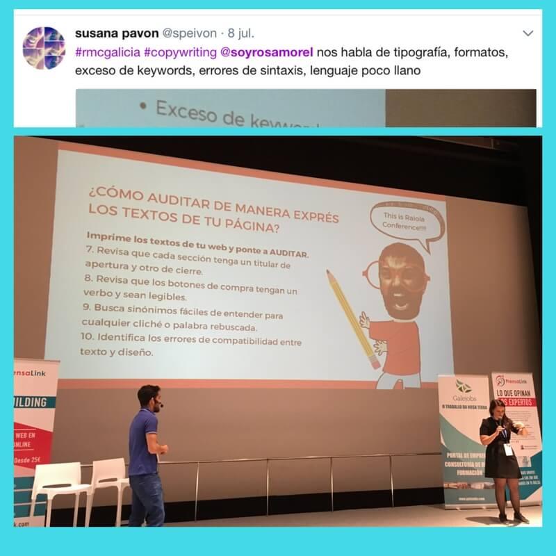 Copy, SEo, estrategia , Raiola conference