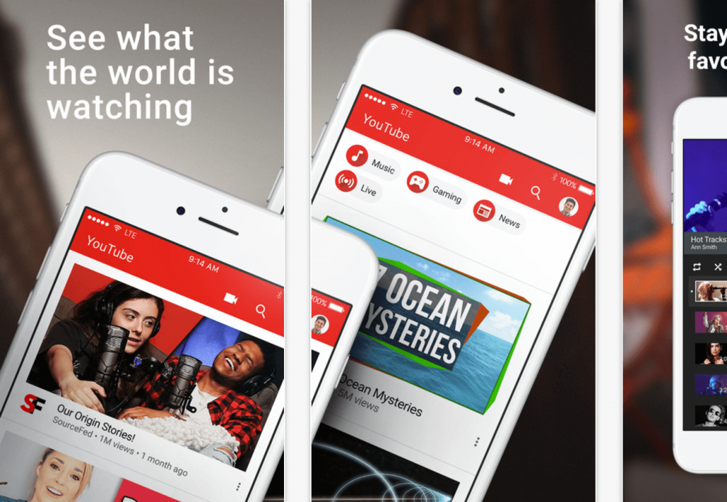 streaming youtube, beneficios estrategia de marca