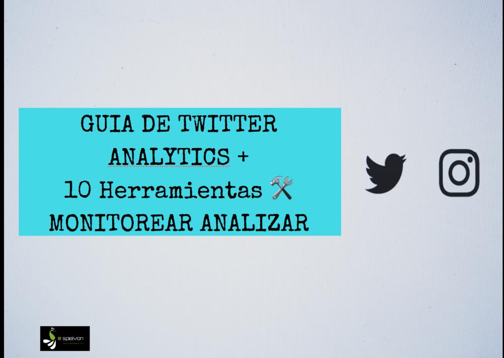 Guia de Twitter Analytics [+ kit 10 Herramientas gratuitas de analítica y gestión]