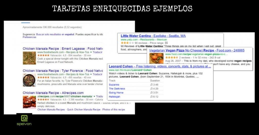 tarjetas enriquecidas Google Search Console