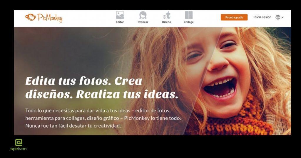 herramientas para-la- gestión de imágenes Picmonkey
