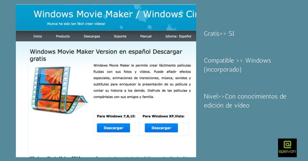 movie maker programas de edición de video