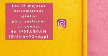 herramientas gestionar cuenta de Instagram