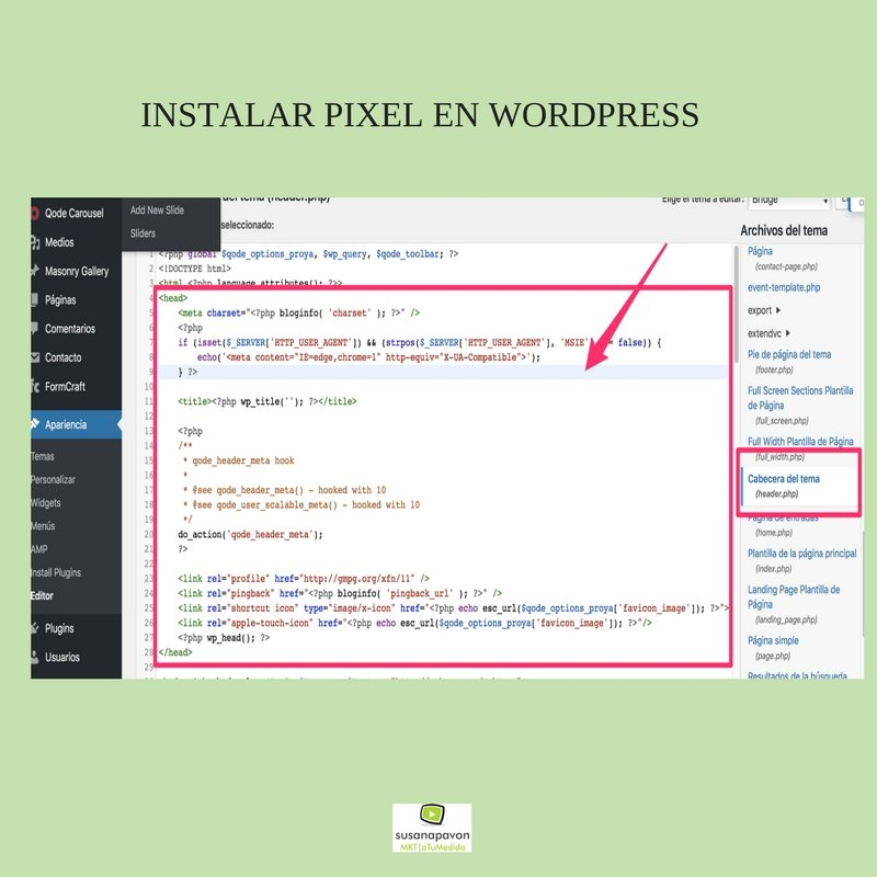 Qué es Retargeting-instalar píxel wordpress
