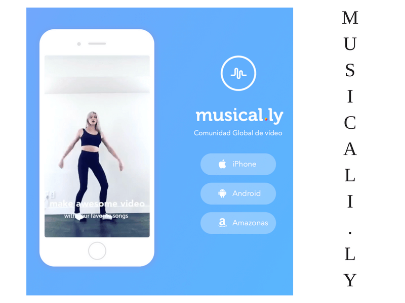 las redes sociales- musical.ly