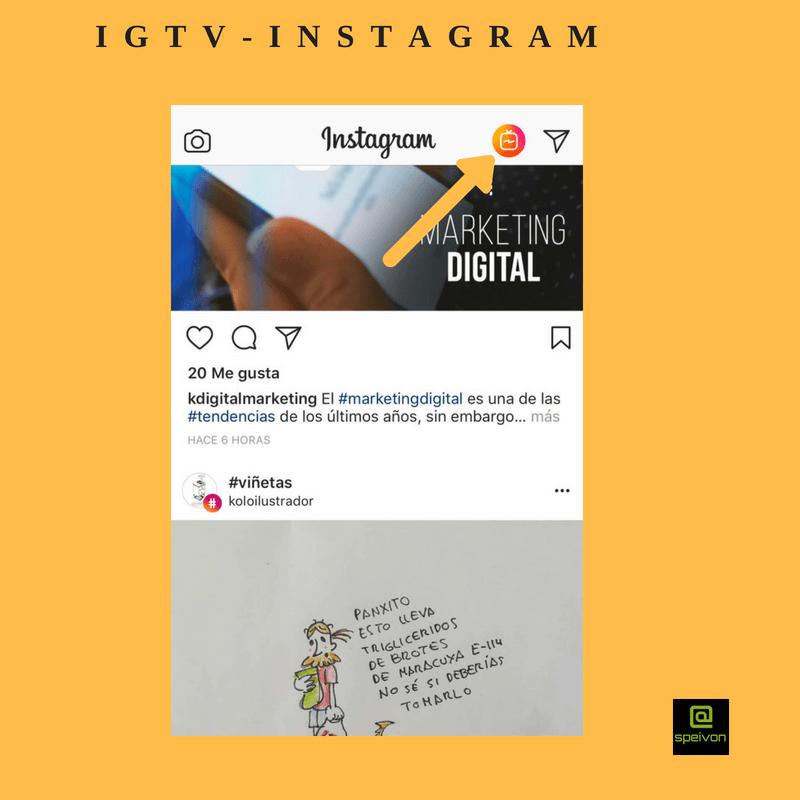 perfil de empresa-IGTV